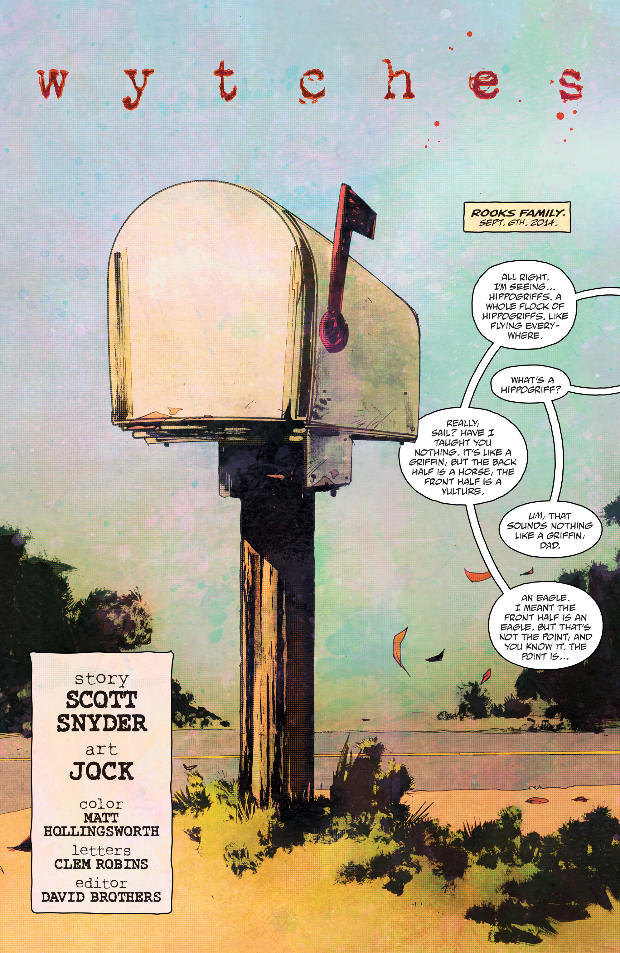 Read online Wytches comic -  Issue #1 - 8
