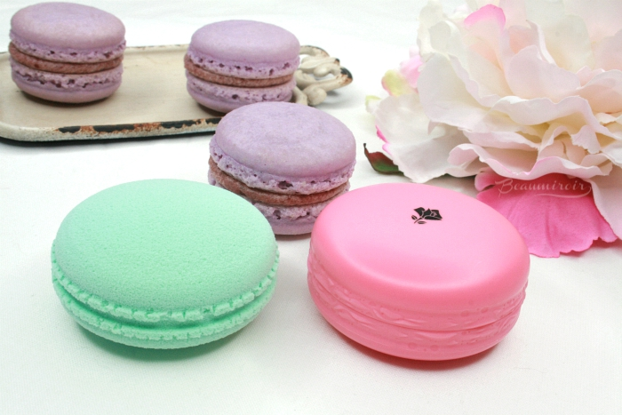 macaroon shaped makeup by French beauty brand lancome