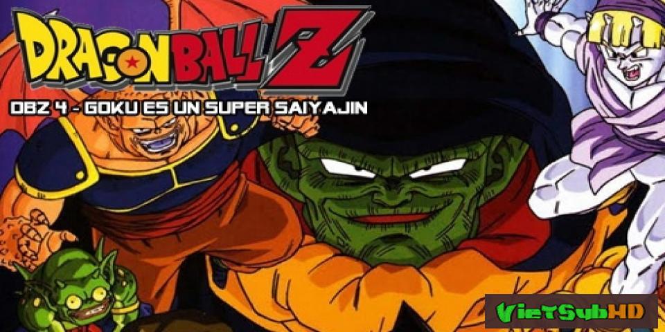 Phim 7 Viên Ngọc Rồng: Chúa Tể Ốc Sên VietSub HD | Dragon Ball Z Movie 4: Lord Slug 1991