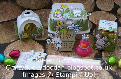 Stampin' Up! UK Independent Demonstrator Susan Simpson, Craftyduckydoodah!, Easter Craft Buffet, Basket Bunch, Supplies available 24/7 from my online store,