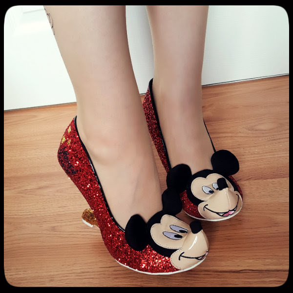 irregular choice disney oh boy shoes