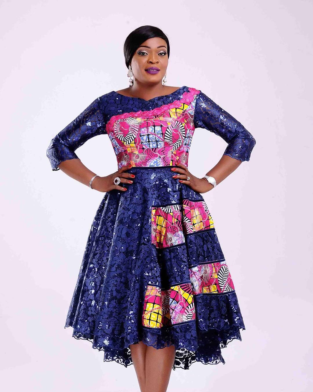 130e2114ce7 plus size maxi african fashion ankara style -  Od9ja Styles  - Plus Size  Maxi