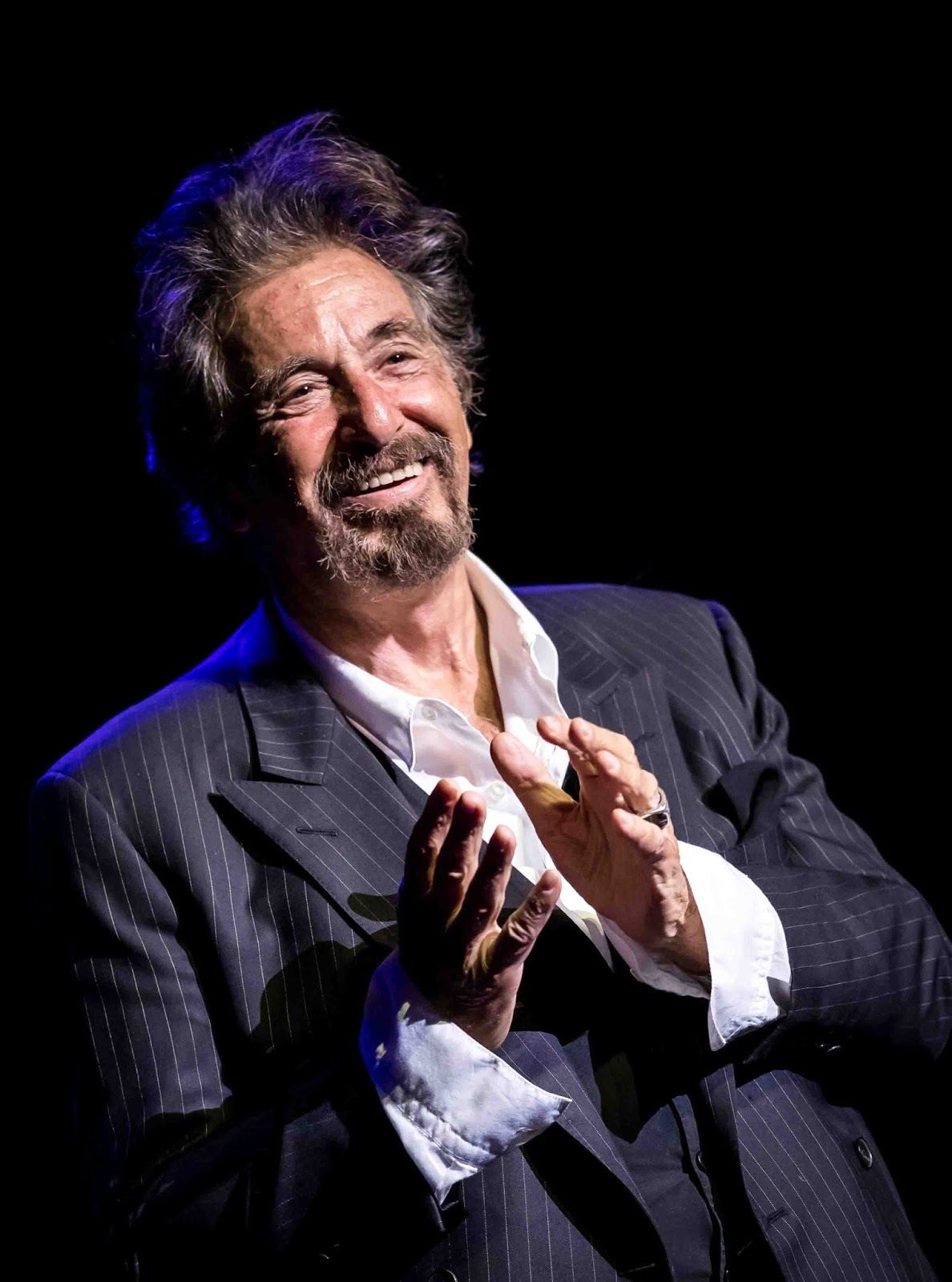 Times square gossip al pacino an evening with al pacino the venetian vegas m4hsunfo Gallery