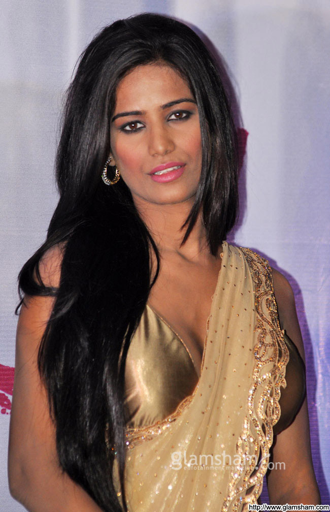 Poonam Pandey at promotional event of the film Nasha