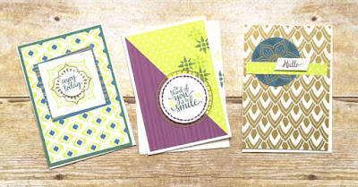 Stampin' Up! Eastern Beauty Note Cards ~ Eastern Palace Starter Bundle ~ www.juliedavison.com