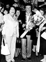 Liberace and his fan club