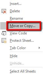 langkah-langkah cara menyalin pada Excel