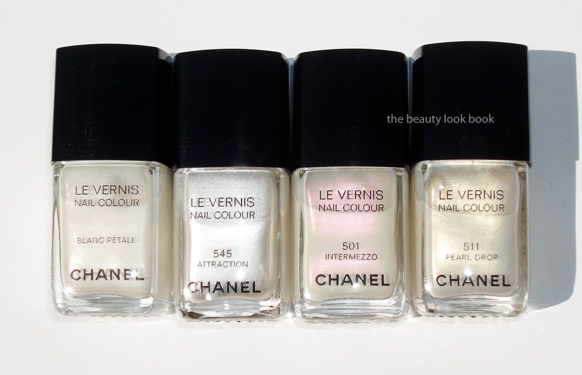 Chanel Attraction 545 Le Vernis The Beauty Look Book