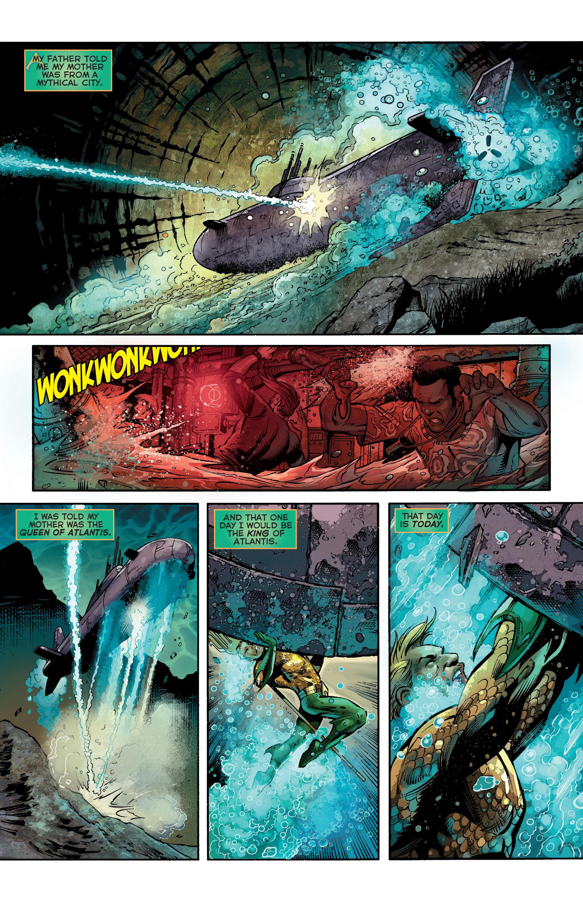 Read online Aquaman (2011) comic -  Issue #21 - 6