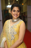 Nivetha Thamos in bright yellow dress at Ninnu Kori pre release function ~  Exclusive (38).JPG