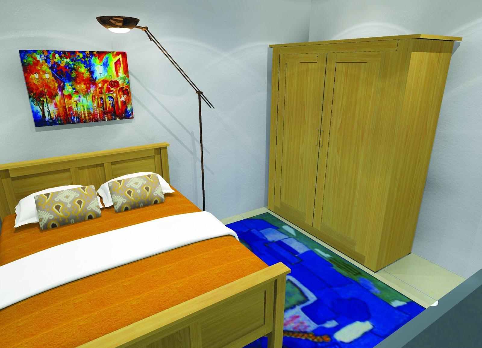 Anjung Seri Menempatkan Televisyen Di Bilik Sempit Hiasan Tidur Idea Dan Susun Atur