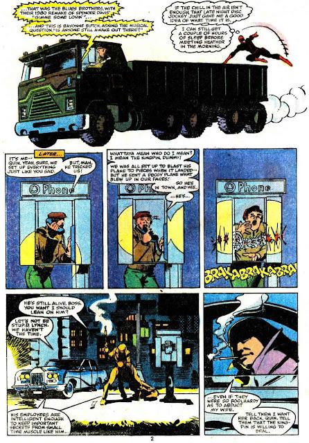 Daredevil v1 #171 marvel comic book page art by Frank Miller
