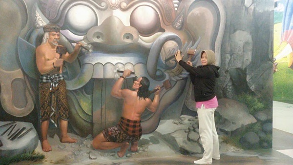I AM Bali 3D Interactive Art Museum di Renon Denpasar
