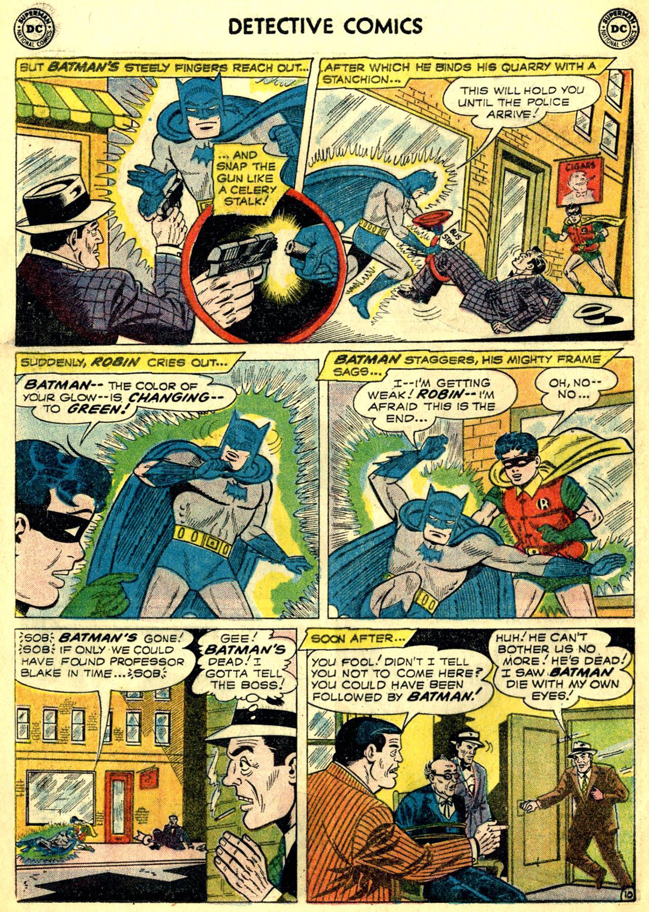 Read online Detective Comics (1937) comic -  Issue #268 - 12