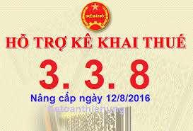 Tổng cục thuế nâng cấp phần mềm hỗ trợ kê khai thuế (HTKK) lên phiên bản 3.3.8