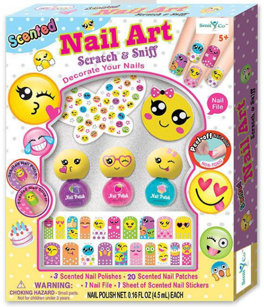 Mail4Rosey: Smit & Co. Scented Nail Polish and Sticker Set for Kids!