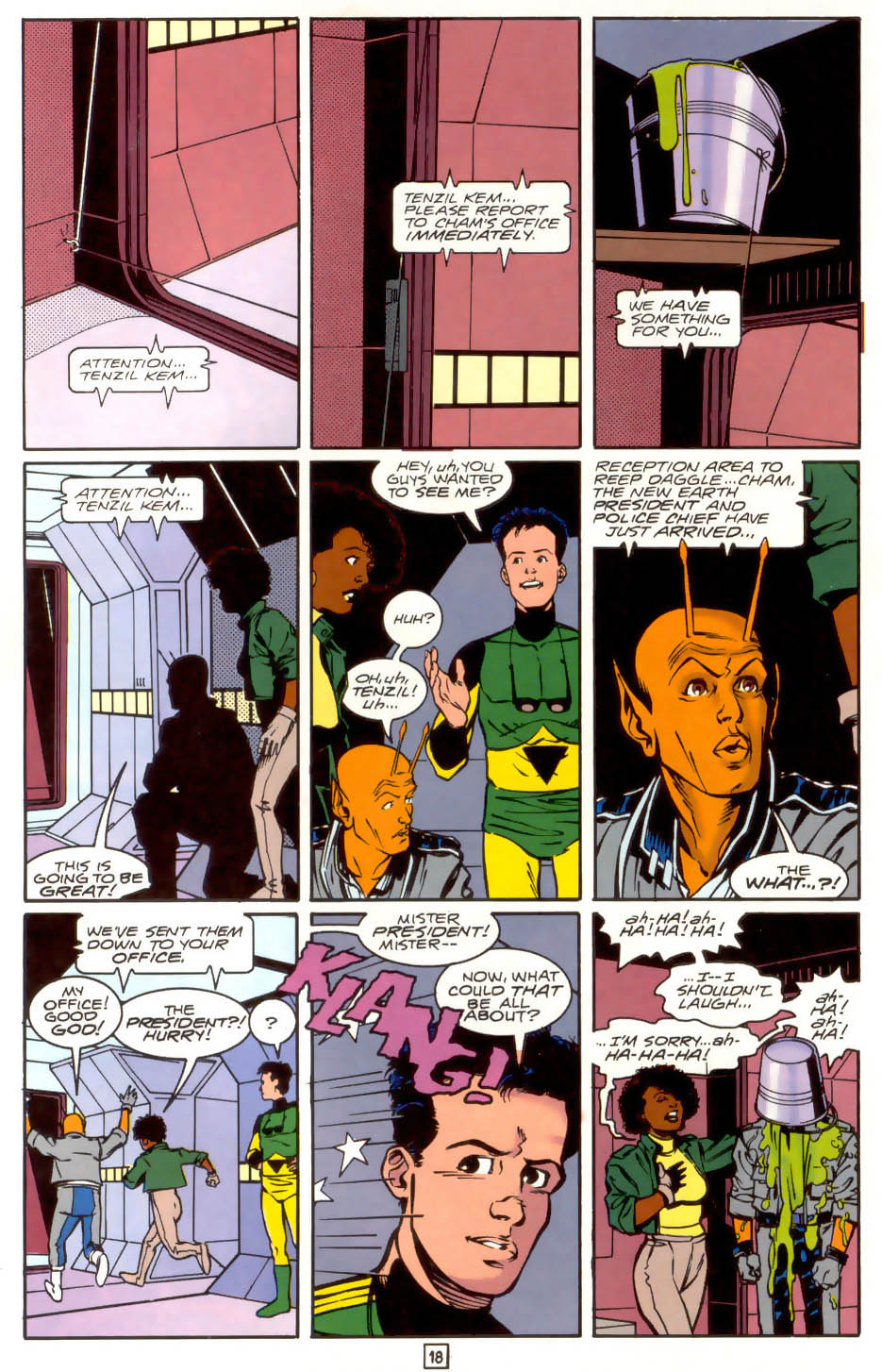Legion of Super-Heroes (1989) 41 Page 18