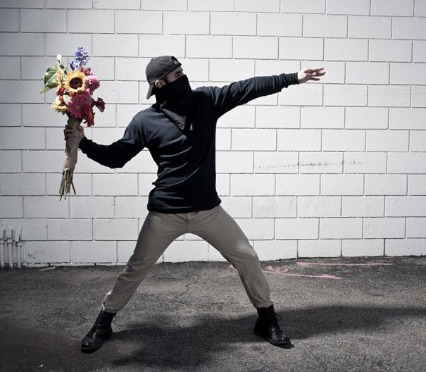 Banksy Artwork Recreated in Real Life-1