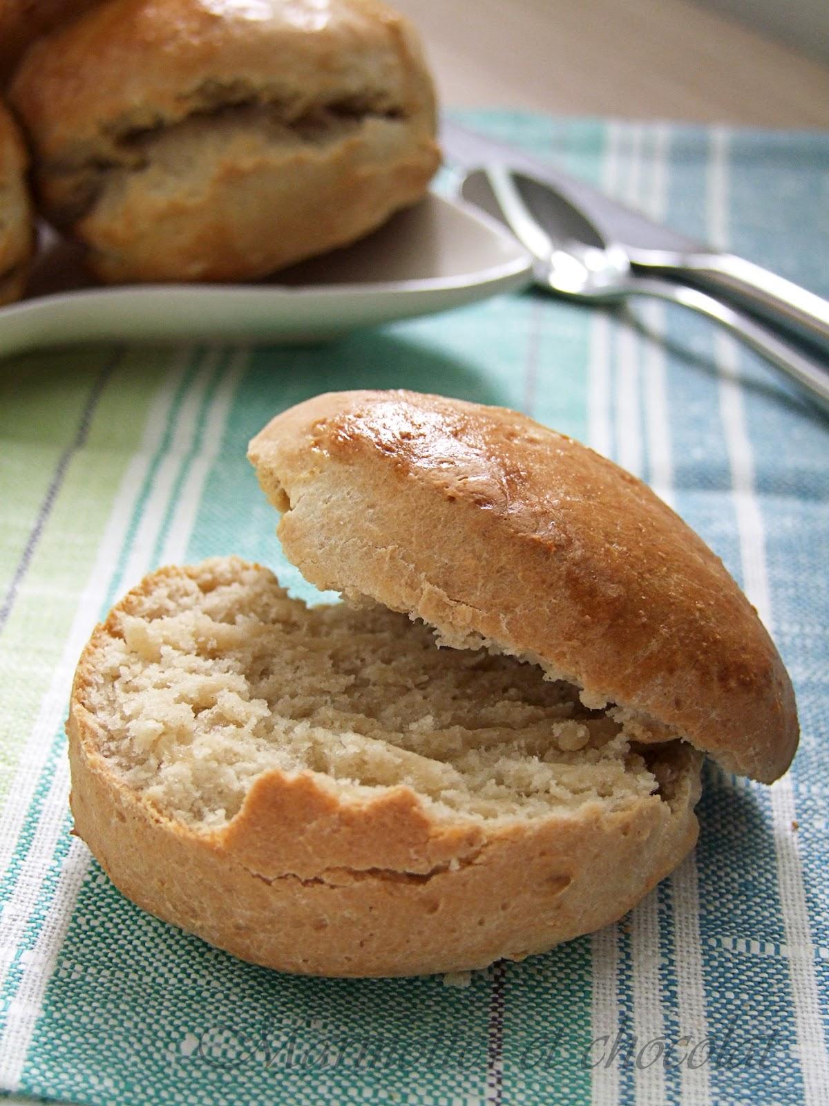 pain farine complete maison