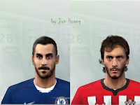 PES 6 Faces Davide Zappacosta & Manolo Gabbiadini by Jun Huang