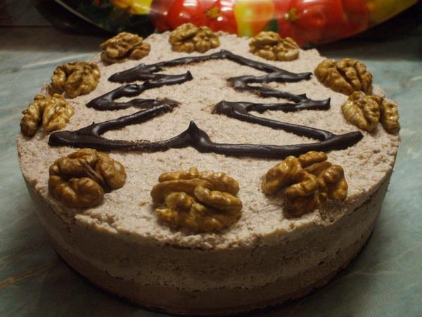 Vegán karácsonyi diós torta ételkészítő videó 20 percben