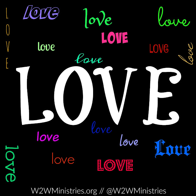 Love is God and God is love! Everything in the Word of God points to God being love. #Love