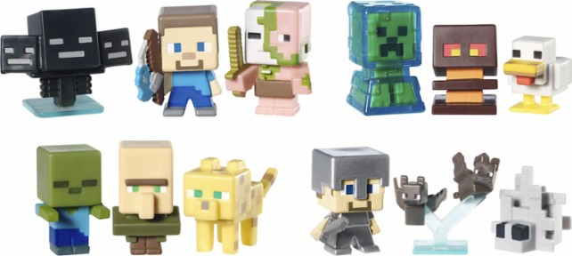 Minecraft Toys And Mini Figures For Kids : One savvy mom ™ nyc area top minecraft gifts