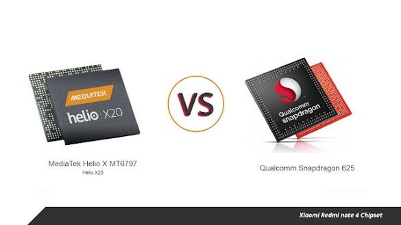 Xiaomi Redmi Note 4 Chipset Helio Mediatek Vs Qualcomm Snap Dragon Mana Yang Lebih Baik?