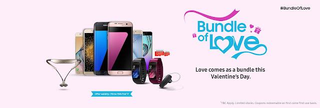 Samsung Valentine Offers