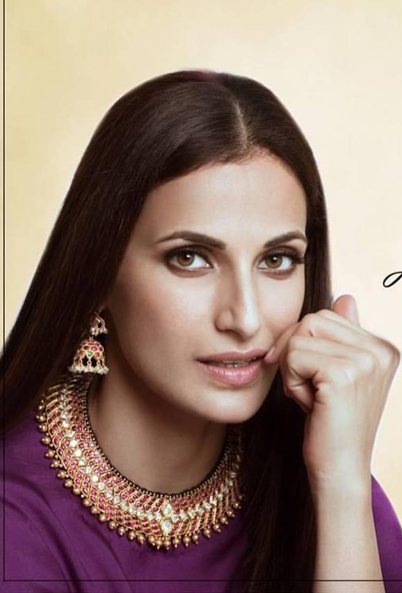 Shilpa Reddy in Temple Jewelry