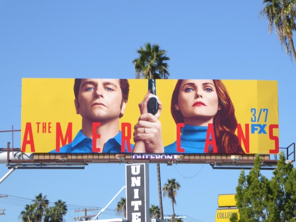 Americans season 5 FX billboard