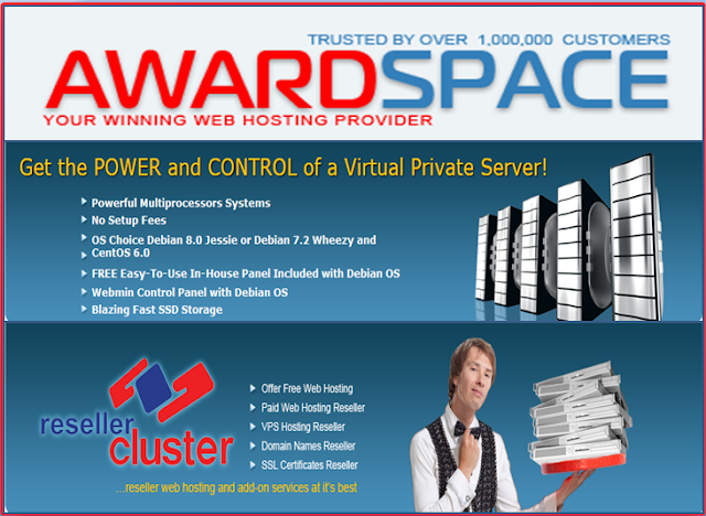 Award Space web hosting Review