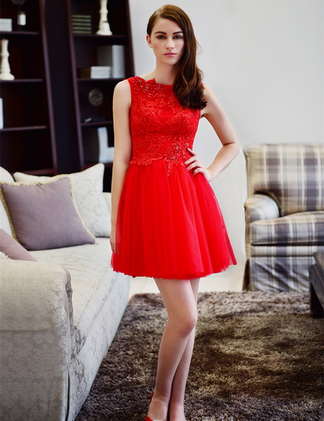 vestidos rojos al cuerpo