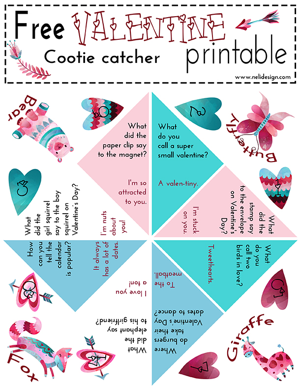 This is a photo of Impertinent Fortune Teller Printable