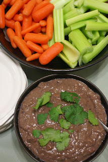 Light and Spicy Black Bean Dip