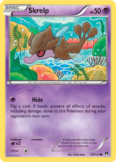 Skrelp BREAKpoint Pokemon Card