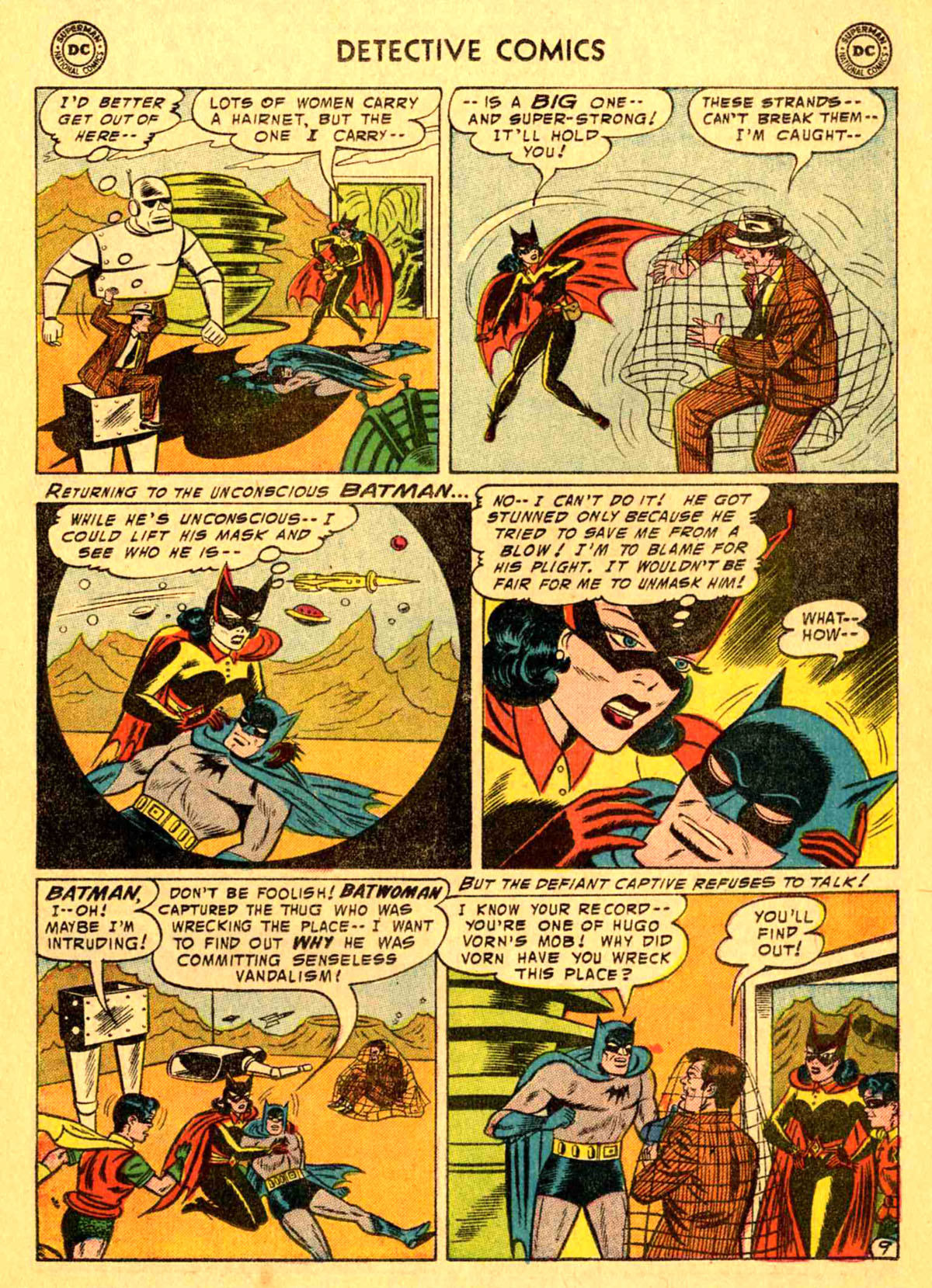 Read online Detective Comics (1937) comic -  Issue #233 - 11