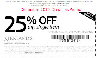 Kirklands coupons for december 2016