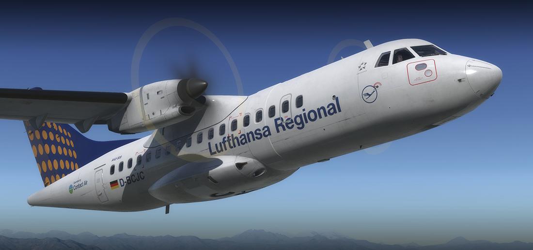 FSX/FSX:SE/P3Dv3/P3Dv4/P3Dv4 4+] - Carenado - ATR 42-500 v1