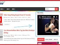 Cara Memasang Widget Video Youtube Di Sidebar Blog