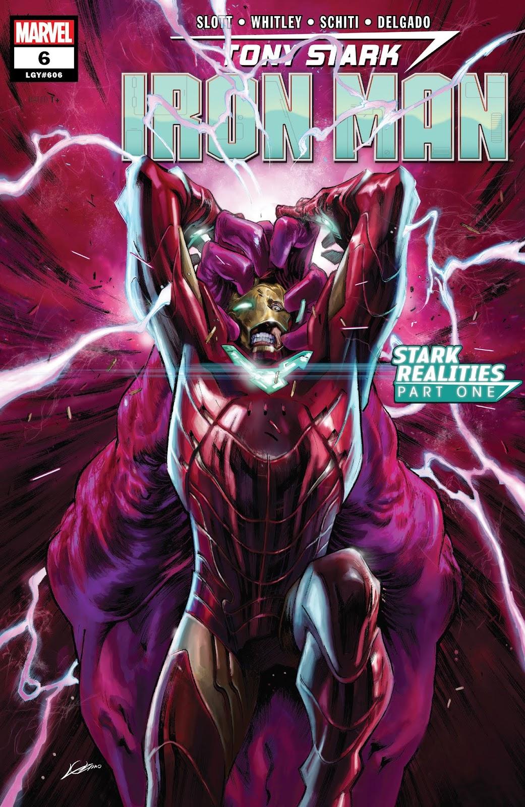 Read online Tony Stark: Iron Man comic -  Issue #6 - 1