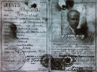 Dowód osobisty Bronisława Młynarskiego z 1929 r.