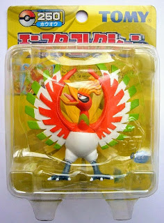 Ho-Oh figure Tomy Monster Collection yellow package series