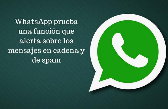 WhatsApp, mensajería instantánea, alerta, mensajes, cadena, spam