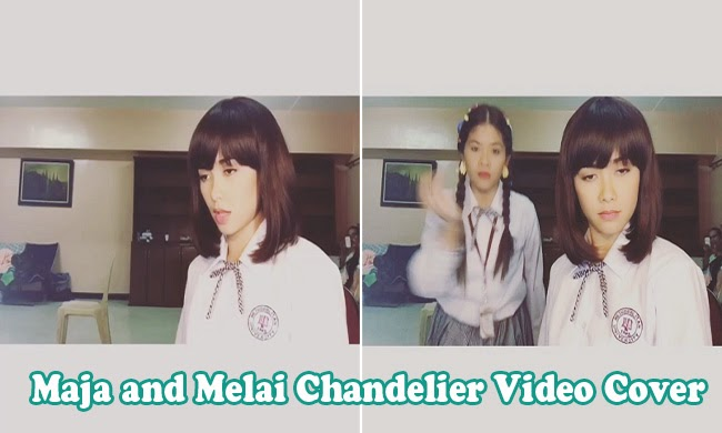 Maja Salvador and Melai Cantiveros Francisco Video Cover of  Sia's 'Chandelier' on Instagram now Trending