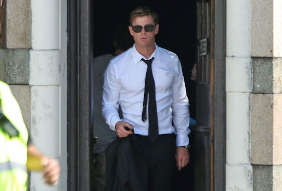 MIB: Homens de Preto | Chris Hemsworth aparece nas primeiras imagens do set
