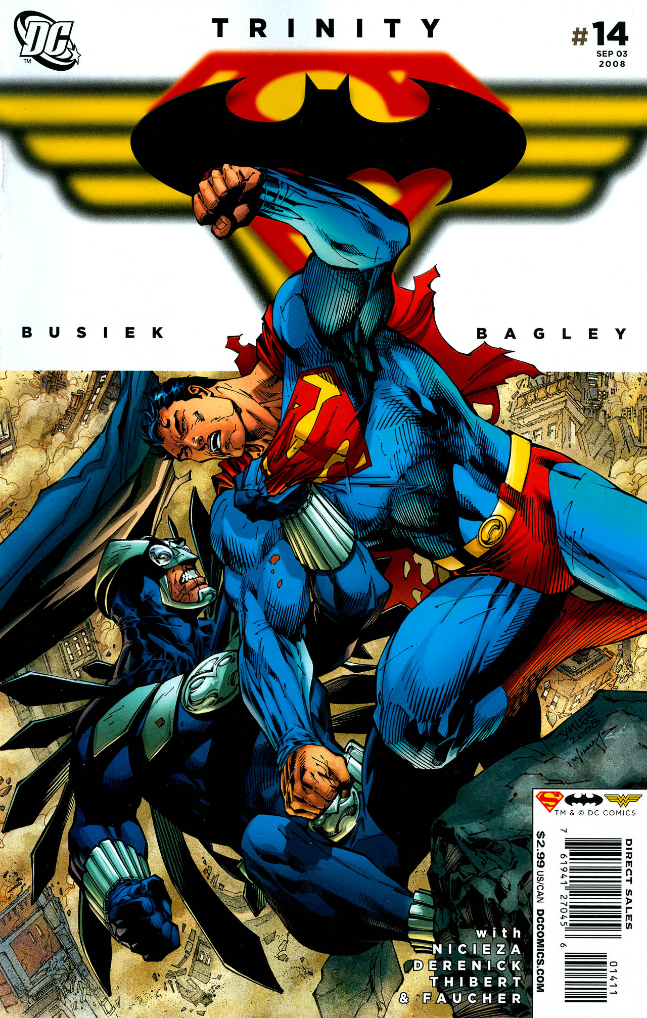 Read online Trinity (2008) comic -  Issue #14 - 1