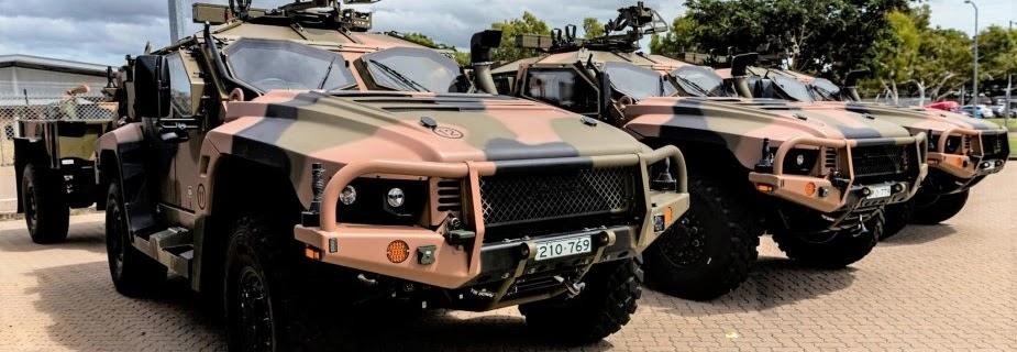 Австралійська армія перші серійні бронемашини Hawkei