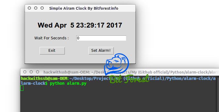 Create Alarm Clock Using Python