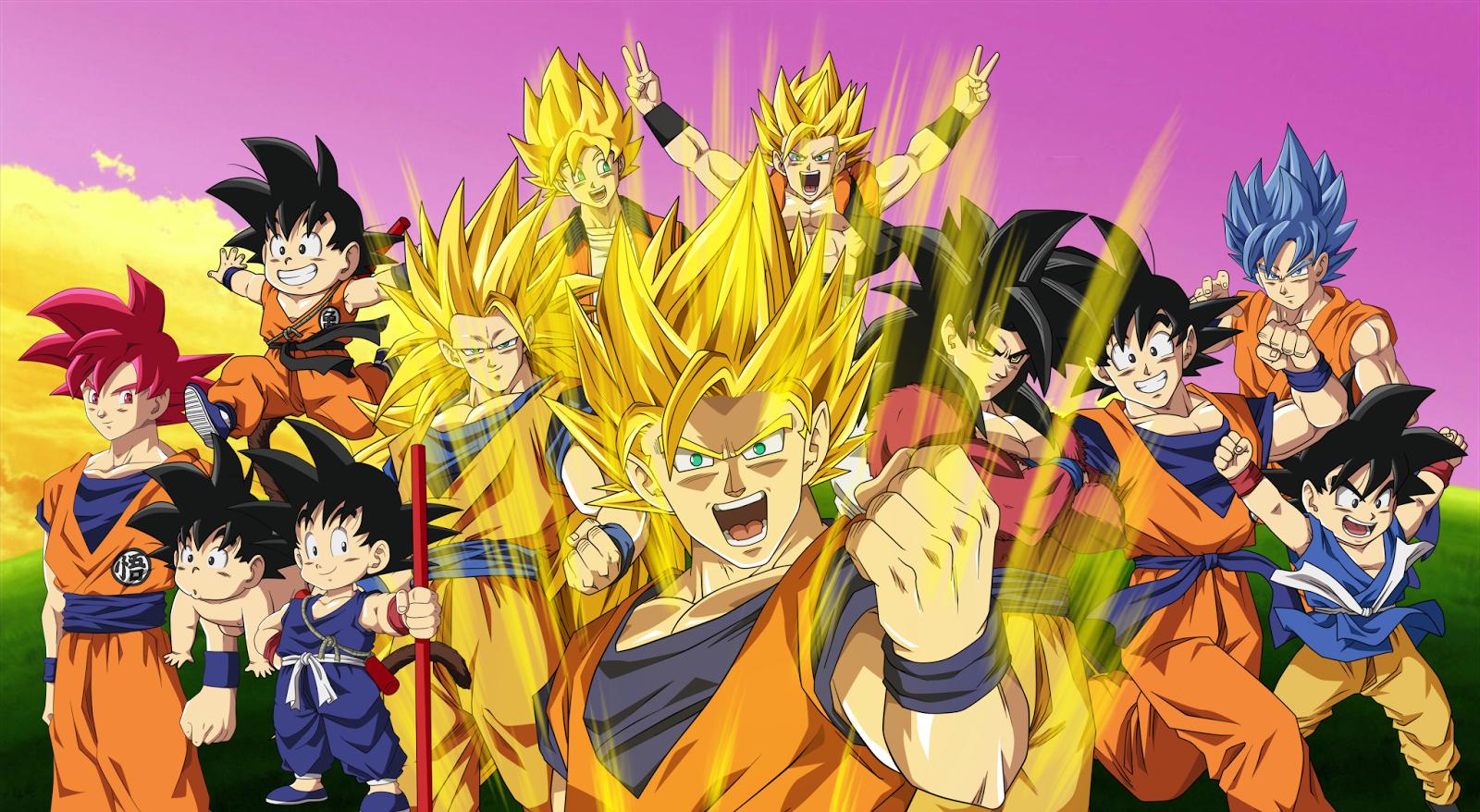 Kopi Hangat: Gambar Dragon Ball, Manga dan Anime Serial Jepang